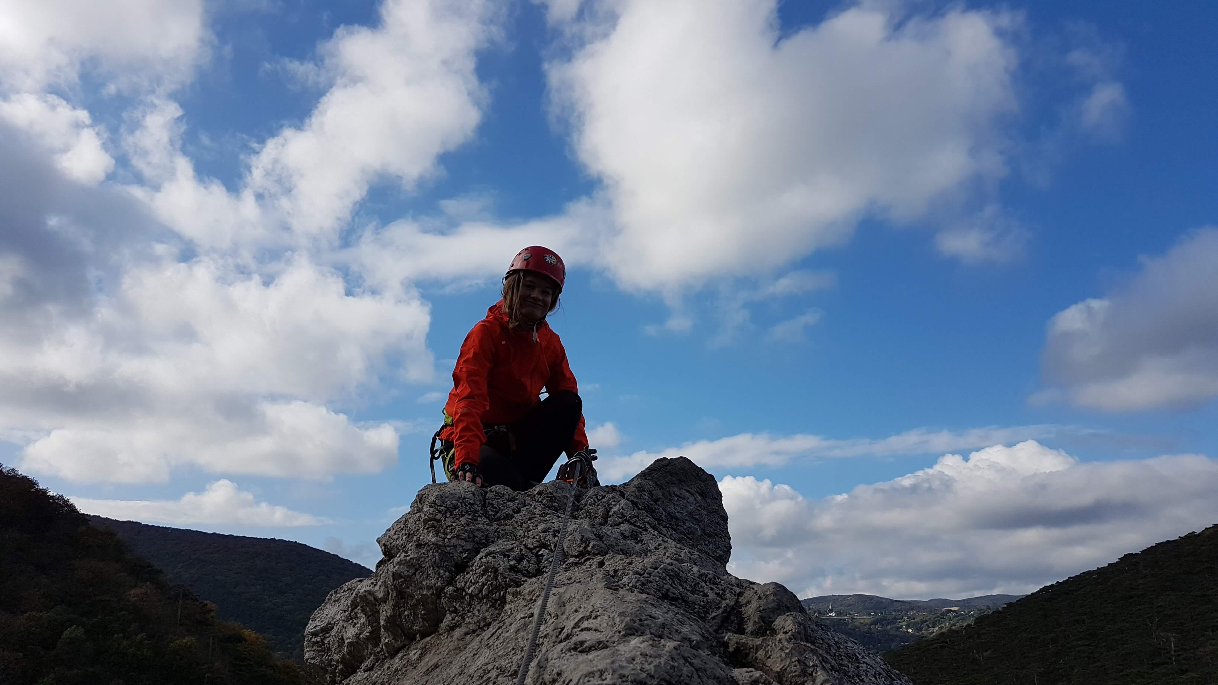 Kletterstieg